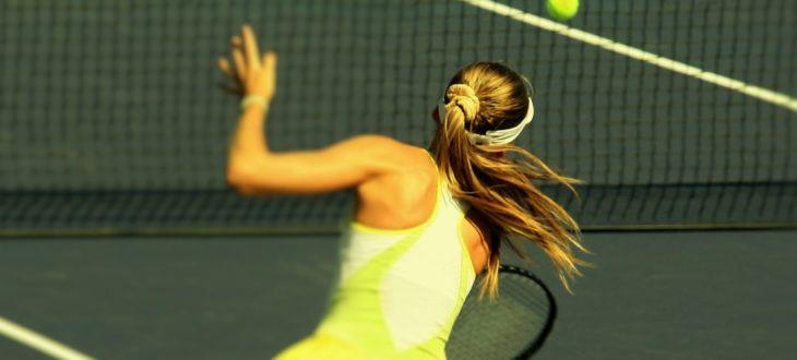 большой теннис основы