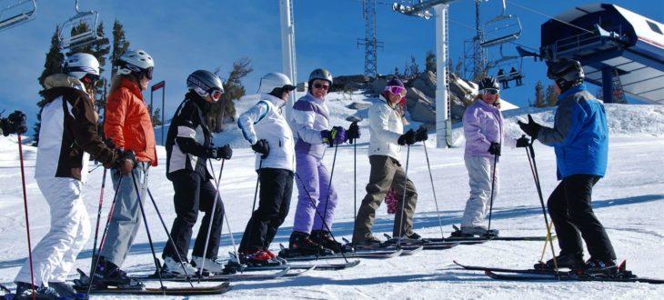 Горные лыжи снаряжение