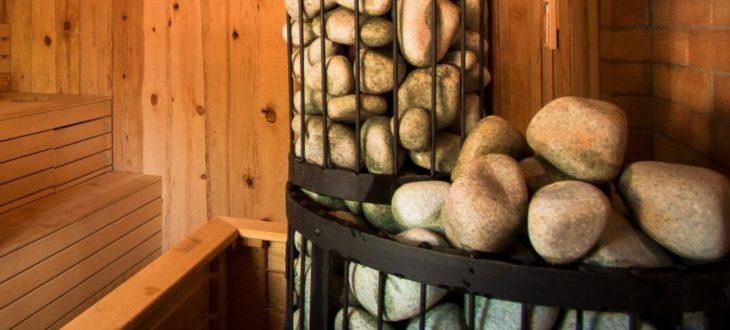 печь каменка для бани